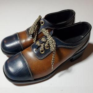 Sandy Mcgee Vintage Oxfords 9 D